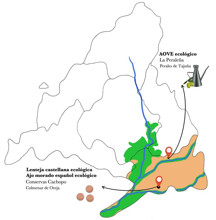 Mapa lentejas estofadas