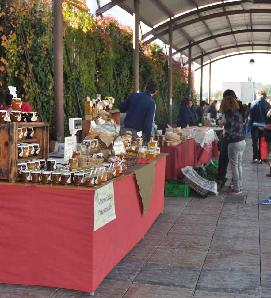 Mercado de productores locales y de artesanía de Rivas Vaciamadrid, Comunidad de Madrid