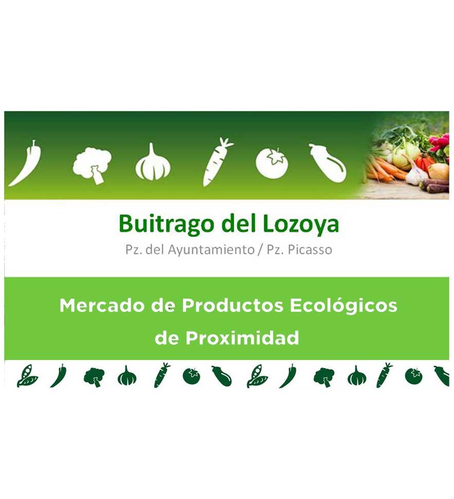 Mercado de Productos Ecológicos de Proximidad de Buitrago del Lozoya