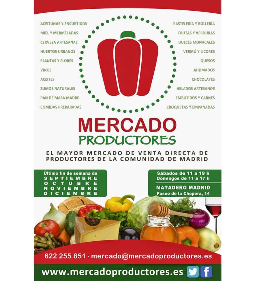 Mercado de Productores de Matadero Madrid