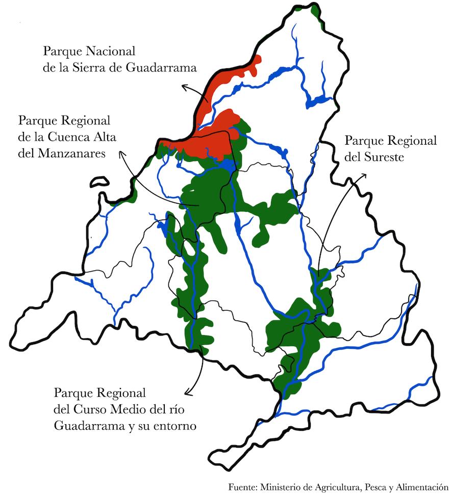 Mapa Espacios Naturales Protegidos