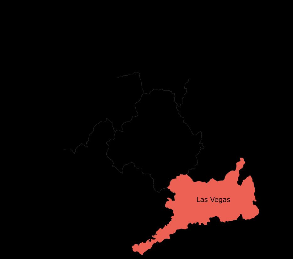 Mapa de la Comarca de las Vegas